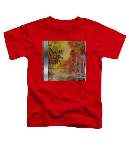 Ny City Collage - 6 Toddler T-Shirt