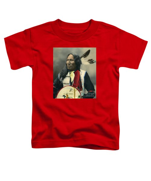 Oglala Chief Strikes With Nose 1899 Toddler T-Shirt