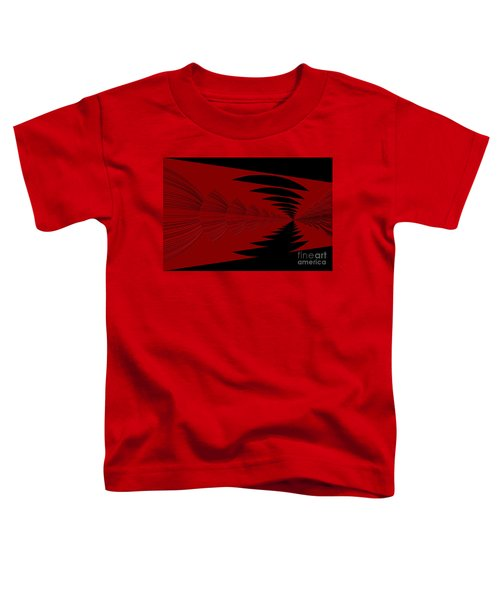 Red And Black Design Toddler T-Shirt