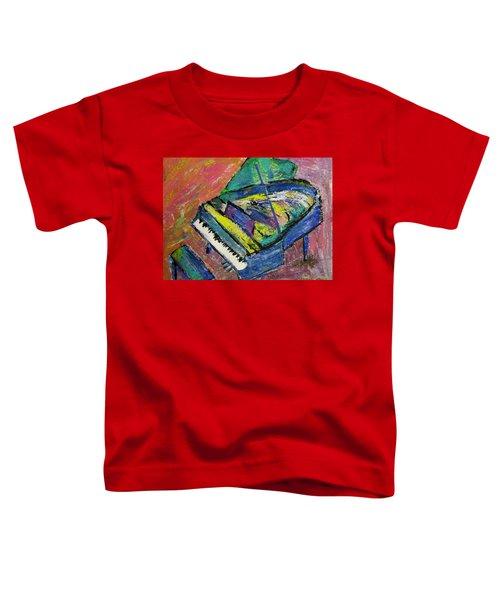 Piano Blue Toddler T-Shirt