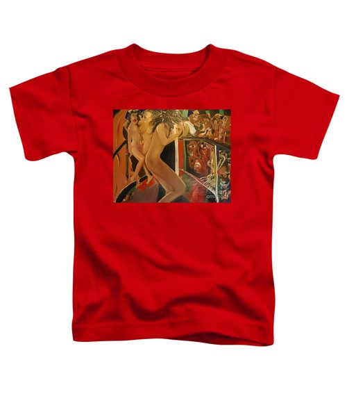 Pole Dancers And Their Admirers Toddler T-Shirt