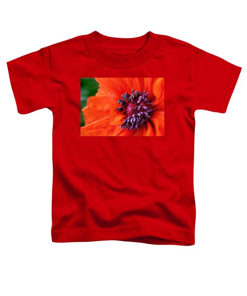 Poppy's Purple Passion Toddler T-Shirt by Bill Pevlor