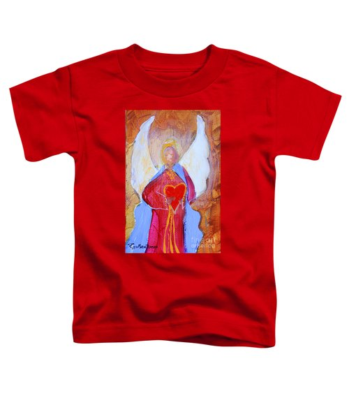 Precious Heart Angel Toddler T-Shirt