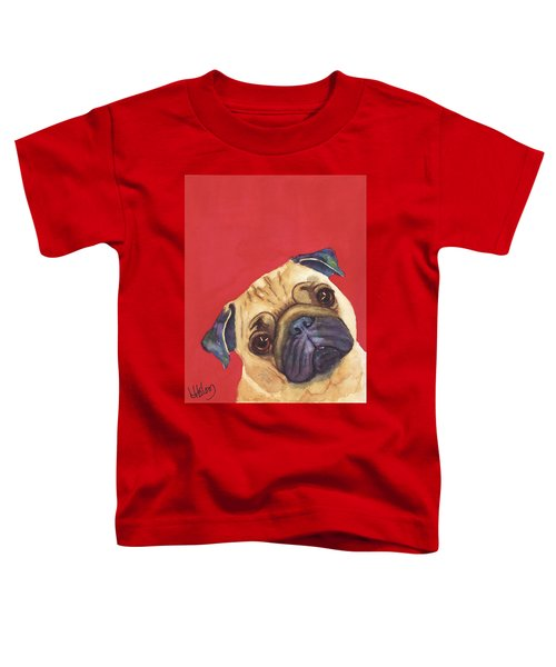 Pug 2 Toddler T-Shirt