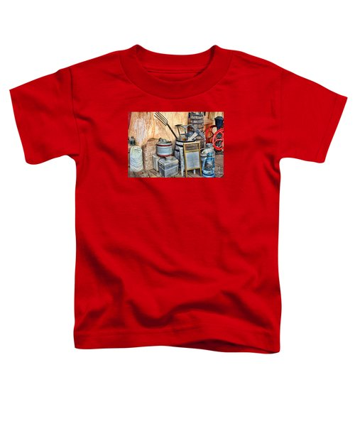 Quitting Time By Diana Sainz Toddler T-Shirt