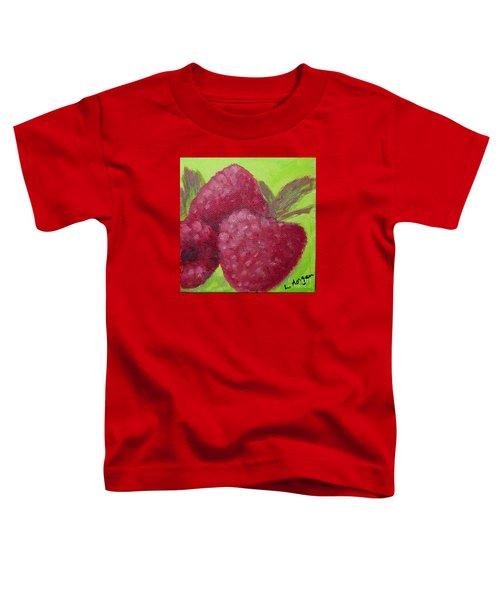 Raspberries Toddler T-Shirt