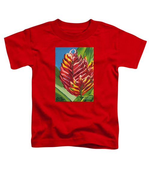 Red Bromeliad Toddler T-Shirt