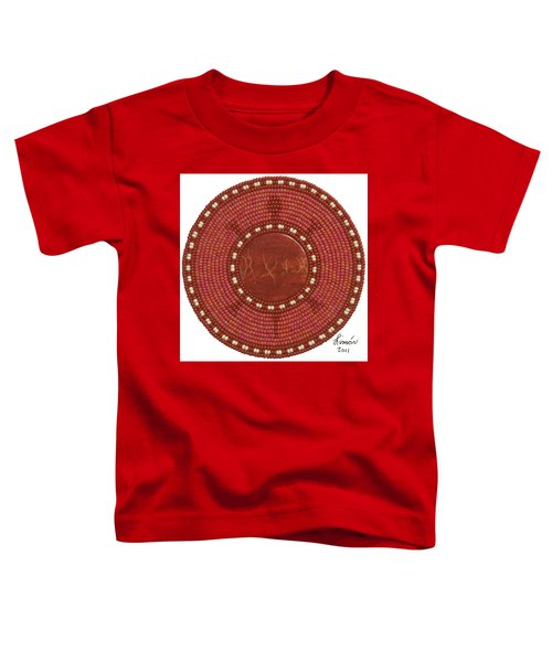 Red Coral Toddler T-Shirt