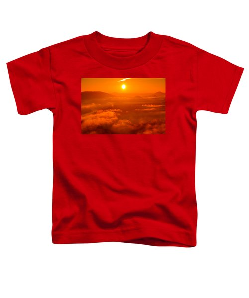 Red Dawn On The Lilienstein Toddler T-Shirt