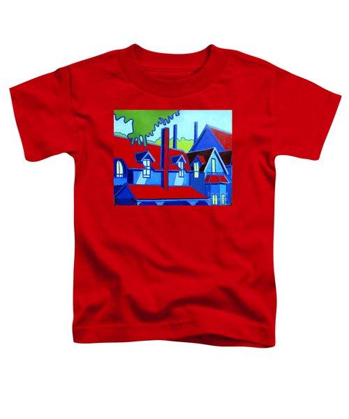 Red Gables Oak Bluffs Marthas Vineyard Toddler T-Shirt