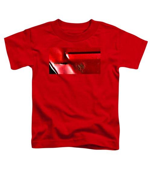 Red Gash Toddler T-Shirt