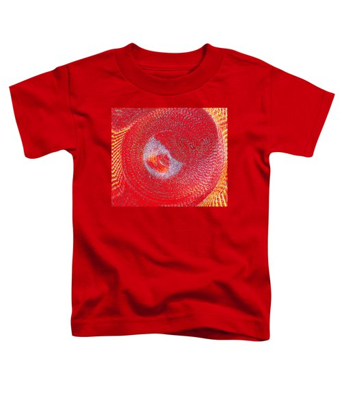 Red Whirlpool Toddler T-Shirt