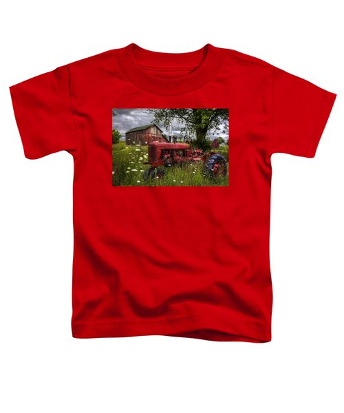 Reds In The Pasture Toddler T-Shirt