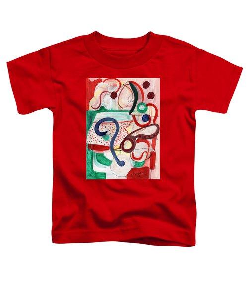 Reflective #6 Toddler T-Shirt