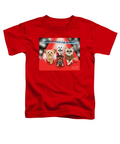 Rescues Rock The Runway Toddler T-Shirt