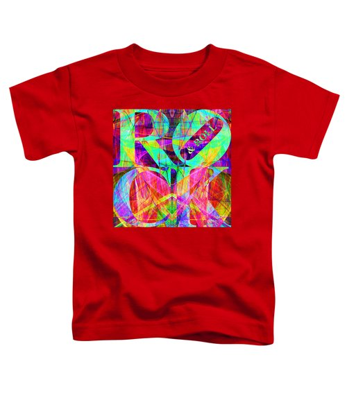 Rock And Roll 20130708 Fractal Toddler T-Shirt