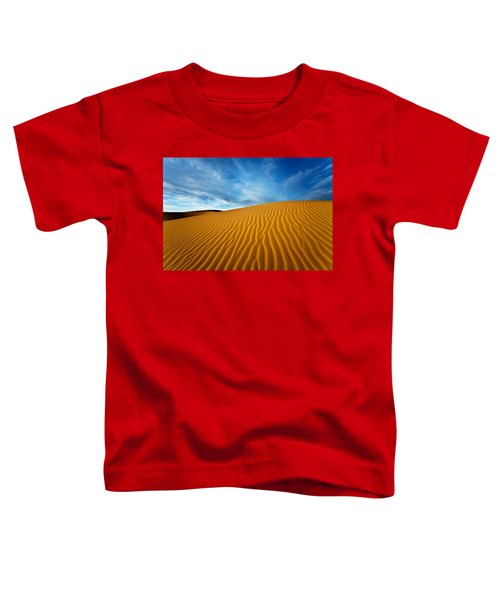 Sands Of Time Toddler T-Shirt by Darren  White