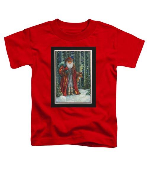 Santa's Journey Toddler T-Shirt