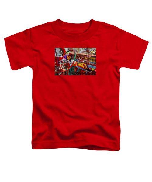 Scharfs Bomb Cadi Ultima Suprema Deluxa Interior Graffiti Toddler T-Shirt