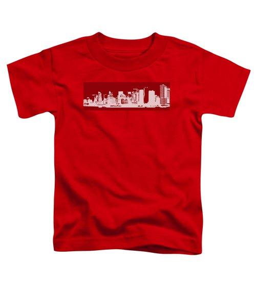 Skyline Number 14 Toddler T-Shirt