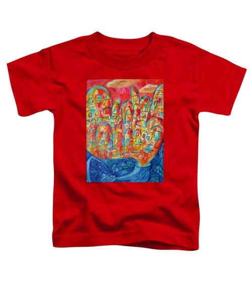 Sound Of Shofar Toddler T-Shirt