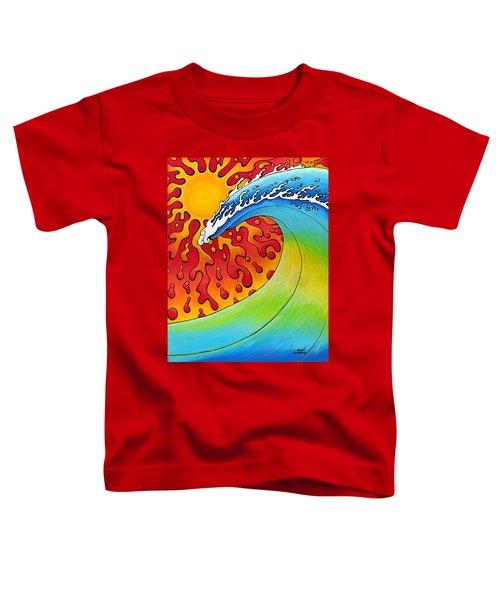 Sun And Surf Toddler T-Shirt