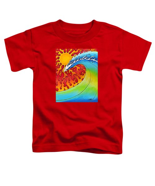 Sun And Surf Toddler T-Shirt