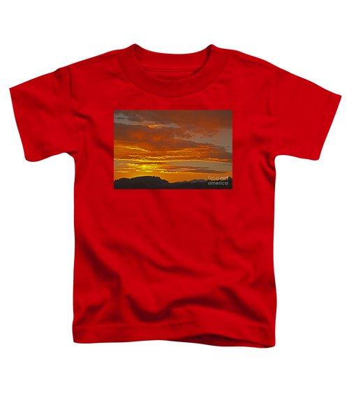 Sunrise Capitol Reef National Park Toddler T-Shirt