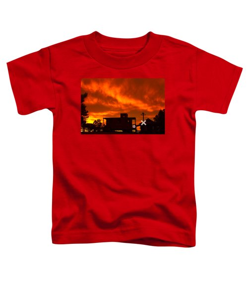 Sunset Caboose Toddler T-Shirt