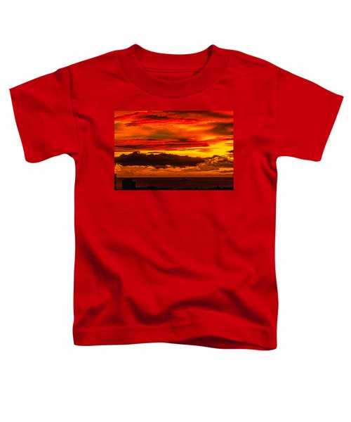 Sunset Wow2 Toddler T-Shirt