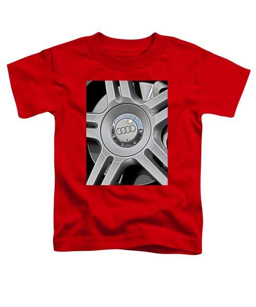 The Audi Wheel Toddler T-Shirt