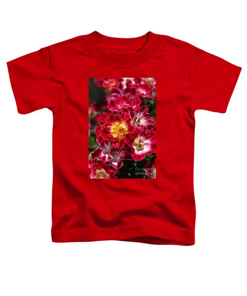 The Beauty Of Carpet Roses  Toddler T-Shirt