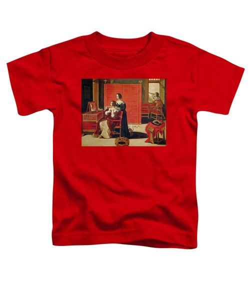 The Five Senses - Sight Oil On Canvas Toddler T-Shirt
