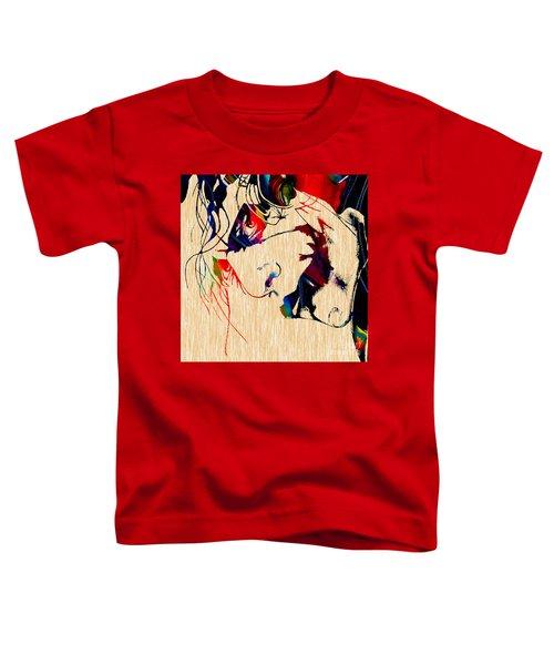 The Joker Heath Ledger Collection Toddler T-Shirt