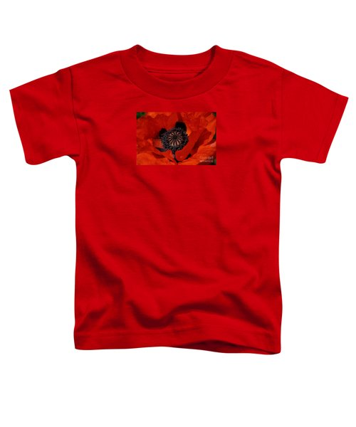 The Poppy Is Also A Flower Toddler T-Shirt