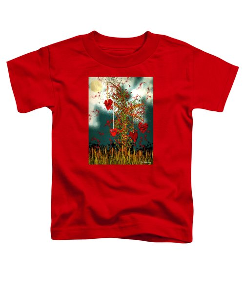 The Tree Of Hearts Toddler T-Shirt