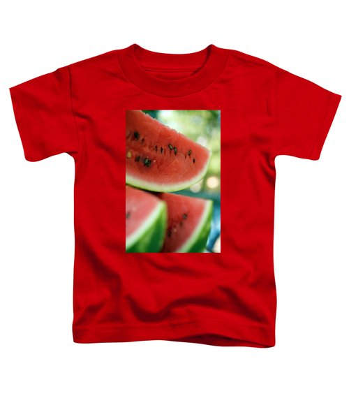 Three Slices Of Watermelon Toddler T-Shirt
