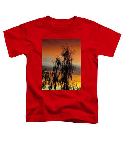 Trees In The Sunset Toddler T-Shirt