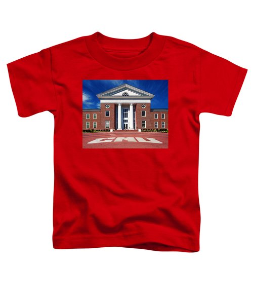 Trible Library Christopher Newport University Toddler T-Shirt