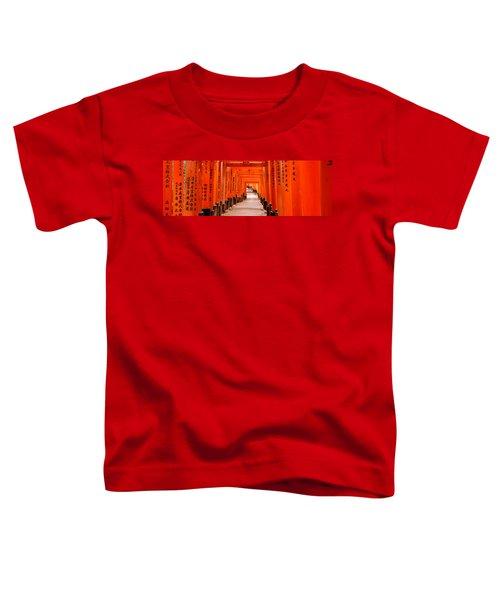 Tunnel Of Torii Gates, Fushimi Inari Toddler T-Shirt