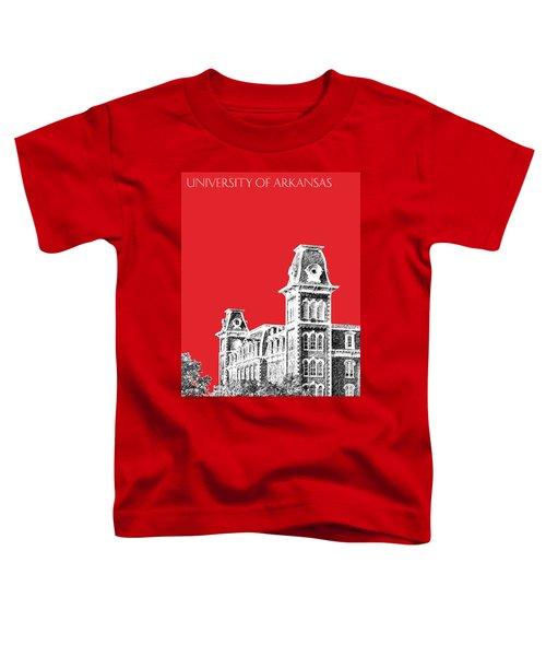 University Of Arkansas - Red Toddler T-Shirt