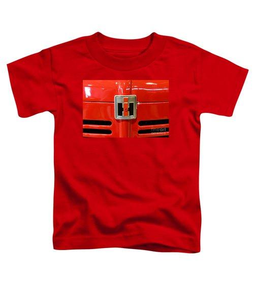 Vintage International Harvester Tractor Badge Toddler T-Shirt