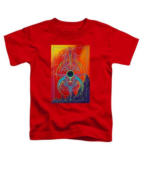 Waiting Over Sedona Toddler T-Shirt
