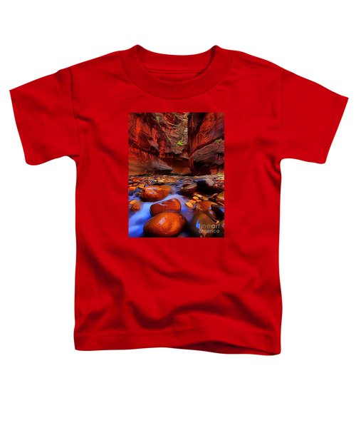 Water Runs Through It Toddler T-Shirt