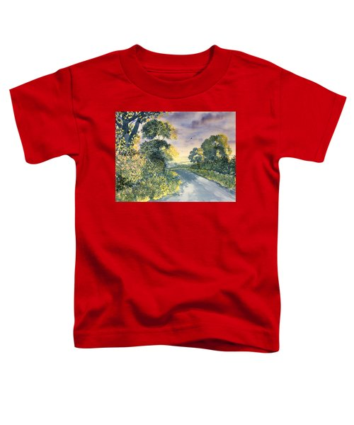 Wild Roses On The Wolds Toddler T-Shirt