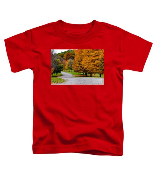 Winding Road Toddler T-Shirt