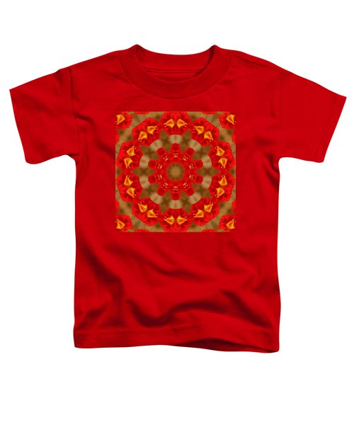 Toddler T-Shirt featuring the photograph Day Lily Kaleidoscope by Bill Barber