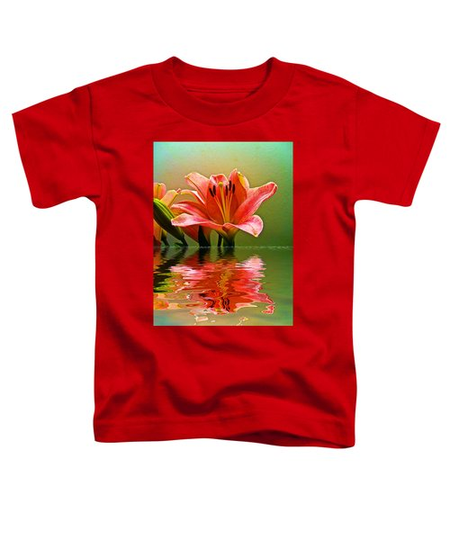 Toddler T-Shirt featuring the photograph Flooded Lily by Bill Barber