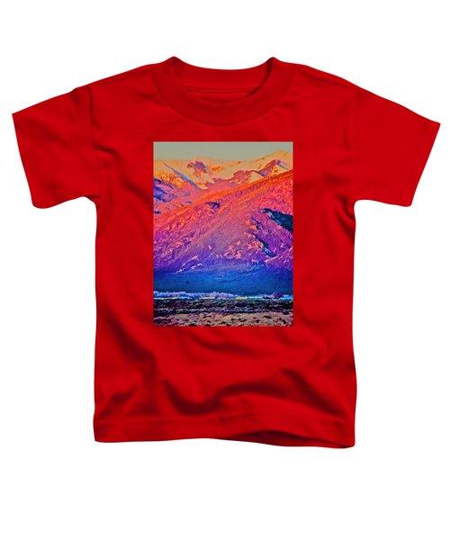 Mt Wheeler At Sunset Toddler T-Shirt