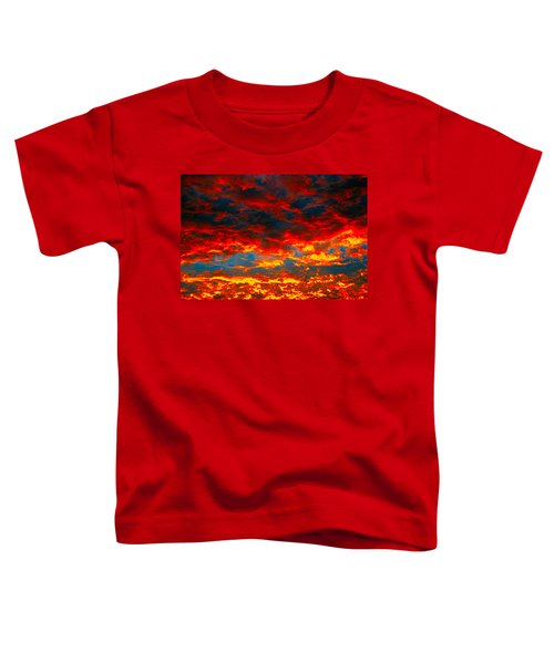 Red Clouds Toddler T-Shirt